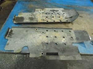 1959 Allis Chalmers D 10 Farm Tractor Running Boards