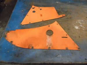 1959 Allis Chalmers D 10 Farm Tractor Side Panels