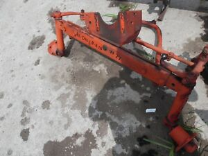 1959 Allis Chalmers D 10 Farm Tractor Wide Front End Assembly nice