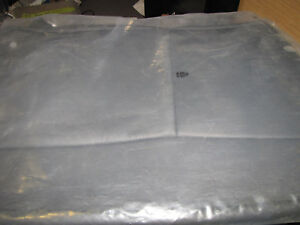 New Oe Saab 9 3 B02 Charcoal Leather Right Rear Seat Back Cover 12773177 08 12