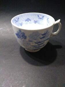 Hand Painted Blue White Tea Cup