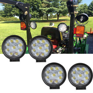 Led Light Spot John Deere Z335e Lawn Mower Kubota Tractor Compactor Fog Lighting