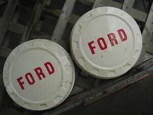 Ford 250 F Series Pickup Truck Dog Dish Center Cap Hubcaps Wheel Covers Fomoco