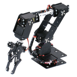 Robotics Learning 6 dof Mechanical Robot Arm For Arduino Diy Assembly Kits