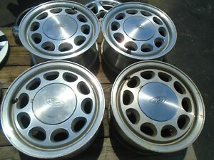 Ford Mustang Gt lx Fox Body 15 Wheel Rims Set Of 4 Oem
