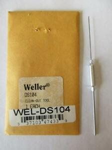 Weller Ds104 Clean Out Tool For Ds100 Desoldering Stations