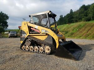 2006 Caterpillar 247b Compact Rubber Tracked Multi Terrain Skid Steer Loader Cat