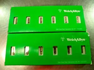 Lot Of 12 Welch Allyn 04700 u Vacuum Lamp For Laryngoscope 2 5 Volt