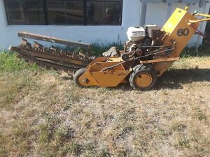 Case 60 Trencher
