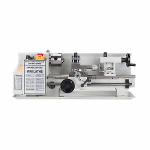7 X 12 Variable speed Mini Metal Lathe High Quality 400w Woodworking
