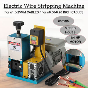 Electric Wire Stripping Machine Portable Scrap Cable Stripper Hot