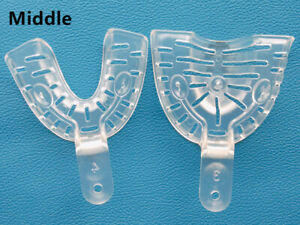 Dental Lms Alginate Impression Tray Inlay Clear Autoclave 121