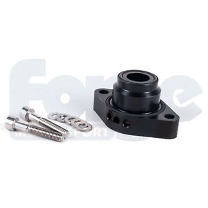 Forge Blow Off Dump Valve Spacer Adaptor Kit Vw Audi 1 4 Tsi Twincharged Black