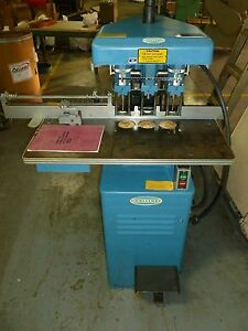 Challenge Eh 3a 3 Hole Paper Drill 230v Blue