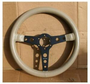 Vintage Momo Prototipo 370mm Steering Wheel Alpina Bmw Porsche Alfa Jaguar Vw