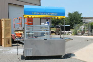 Sandwich Express Mark7 000 axnstj73 Mobile Concession Food Vendor Trailer