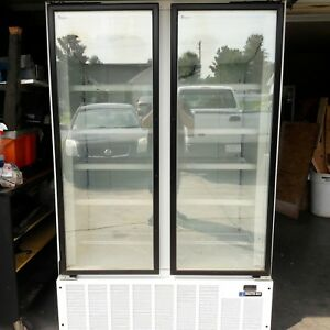 Freezer Master Bilt Blg 48hd Commercial 2 Door Glass Merchandiser Retail 6000
