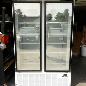 Freezer Master Bilt Blg 48hd Commercial 2 Door Glass Merchandiser Retail 5000