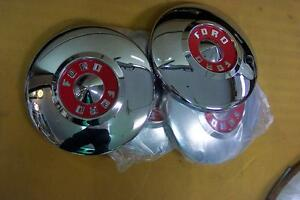 1955 Ford New Set Of 4 Hubcaps All Show Condition Also 1955 Thunderbird 55 1956