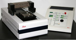 Leica Large Scale Heavy duty Sliding Sledge Microtome Model Sm2500