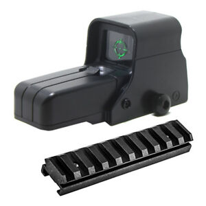 Tactical 512 Scope Sight Green Dot Attachment Rails for Nerf Blaster Modify Toy $15.99