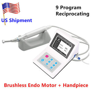 Reciprocating Dental Endodontic Brushless Electric Endo Motor 9 Program Dentist