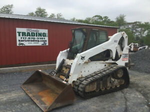 2010 Bobcat T300 Tracked Skid Steer W Cab Joysticks High Flow Coming Soon