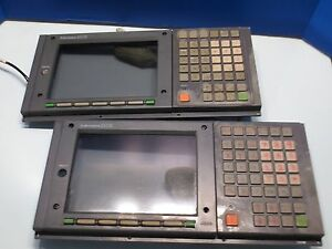 Mitsubishi Cnc Vertical Mill Crt Unit 320m Operator Display Control Keypad