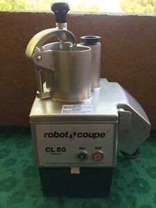 Robot Coupe Cl 50 E Series Food Processor