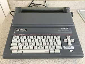 Smith Corona Pwp X15 Word Processor Electronic Typewriter 5d W cover