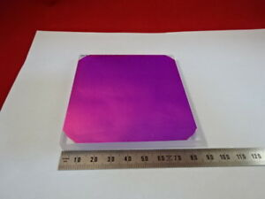 Optical Large Coated Dichroic Glass Mirror Filter Optics As Pictured