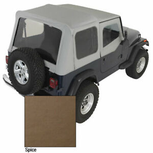 Xhd Soft Top Spice Tinted Windows 88 95 Jeep Wrangler Yj