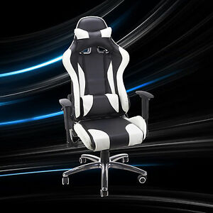 Homall Gaming Chair Race Car Style Bucket Seat Office Chair High Back Executive