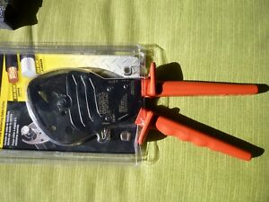 Klein Tools 63711 Open Jaw Ratcheting Cable Cutter New In Packaging free Shipp