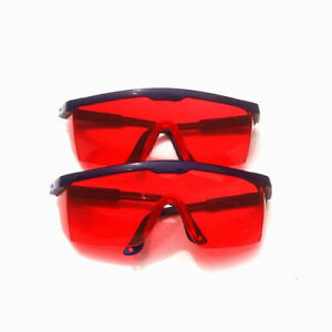 20pc Dental Black red Protection Protective Goggles Glasses Eye Safety Anti fog