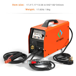 Mig200 Gas No gas Welde Mma Lift Tig Mig Welder Welding Machine Inverter Tool