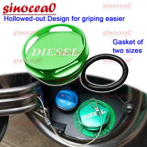 Hollowed out Magnetic Diesel Fuel Gas Tank Cap Fit 13 Dodge Ram 1500 2500 3500