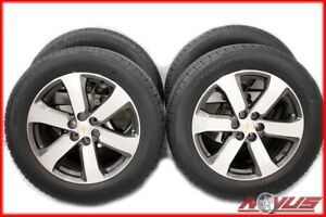 Oem 20 Chevrolet Traverse Machined Wheels Continental Tires 10223