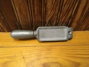 H-I Aluminum fishing weight mold 15A Lead Round Split Shot? 19 Weights