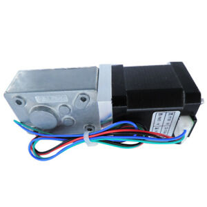 Dc12 24v A58sw 42by b Dual Shaft Speed Reduction Gear Step Motor For 3d Printer
