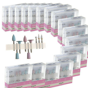 20x Dental Composite Polishing Kit Fit Low Speed Contra Angle Handpiece Ra 0309