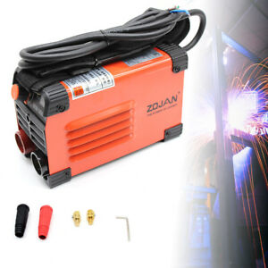 20 160a Mini Handheld Electric Welder Inverter Arc Welding Machine Tool Kit Bes