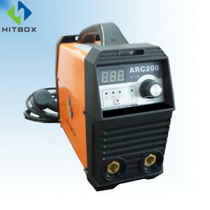 Arc Welder Full Digital 200a 220v Dc Lift Tig Arc Mma Stick Welding Machine
