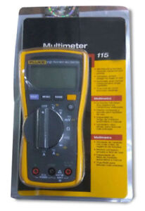 Latest Sealed Pack Fluke 115 True Rms Digital Multimeter Manufactured May 2018