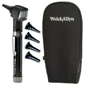 Welch Allyn 22841 Junior Otoscope Pocketscope Set Handle soft Case