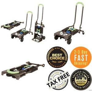 Aluminium Heavy Duty Folding Hand Truck Cart Moving Dolly Trolley Transport Tax0