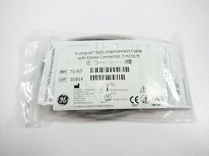 New Genuine Oem Ge Ts n3 Trusignal Spo2 Interconnect Cable W Datex Connector