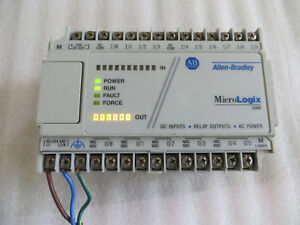 Allen Bradley Micrologix 1000 1761 l16bwa Series e Nice Used Tested