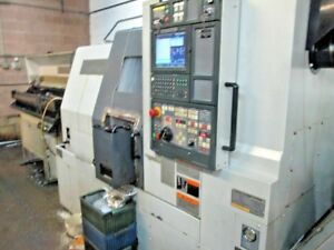 Mori Seiki Sl 204 2003 Cnc Lathe With Sub Spindle Barfeed Parts Catcher