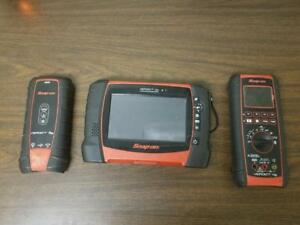 Snap on Verdict D7 Wireless Scanner Module And Cords Perfect Condition